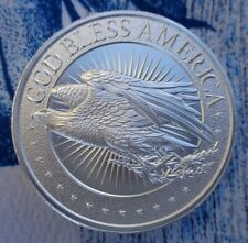 2 oz. Where We Go One - We Go All thick BU rounds .999 fine silver