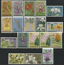 Barbados QEII 1974 Flowers set complete mint o.g.
