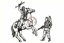 CMK 1/35 Mounted Afghan Warrior & US Special Forces (2 Figures and Horse) F35192