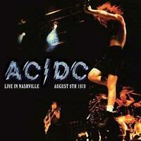 AC/DC – LIVE IN NASHVILLE AUGUST 8TH 1978 (NEW/SEALED) CD