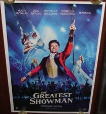 THE GREATEST SHOWMAN (2017) ORIGINAL DS POSTER
