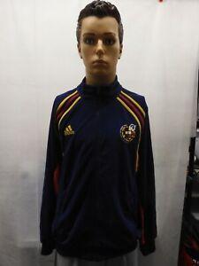 Vintage Spain FEF Adidas Track Jacket Sull Zip M Euro 2000