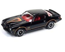 Johnny Lightning 1/64 1977 Chevrolet Camaro Z28 Diecast Model Black (JLCP7055)