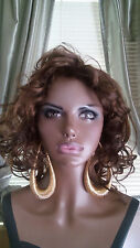 """Big Wire Teardrop Chanelier Style Hoop 5""""""""  Earrings"""