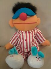 """Tyco 1996 Sing and Snore Ernie Talking plush 18""""  Toy Sesame Street"""