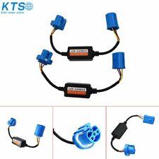 2x  9007 LED Headlight Canbus Error Free Decoder Anti Flicker Flash Resistor