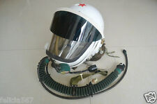MiG-19 Fighter Air Force Pilot High-Altitude Pressure Flight Helmet