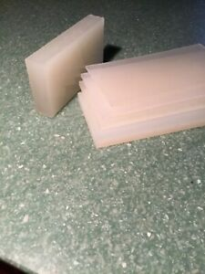 """1/8"""" Polypropylene Plastic Sheet - Priced/Square Foot- Cut to Size!"""