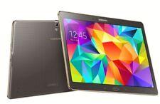 """Galaxy Tab S SM-T800 16GB Wi Fi 10.5"""" - Titanium Bronze BUNDLE"""