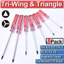 Tri-Wing Triangle CrV Steel Magnetic Screwdriver Set Y0-Y3 TA1.8 TA2 TA2.7 TA4.2