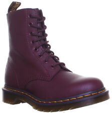 Dr Martens Pascal Virginia Womens Leather Matt Boots Size UK 3 - 8