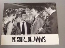 PHOTO D'EXPLOITATION (LOBBY CARD) : CE SOIR OU JAMAIS (Dorléac Rich Bedos Karina