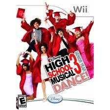 Disney High School Musical 3: Senior Year Dance! For Wii 9E