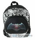 "DC Comis Batman vs Superman 16"" Large Black Backpack School Book Bag for boy"
