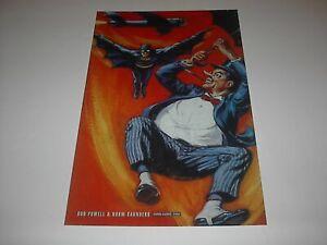 DC COMICS BATMAN VS THE PENGUIN POSTER PIN UP