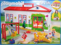 Playmobil 5606 Vedes Exclusiv Kindergarten Spielplatz Spielsachen Kinder RAR NEU