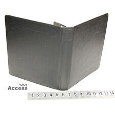 Mcmillan Sb 14bp Heavy Duty 3 Rings Binder 1 Slid Open Black Vtg