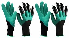 Gardening Gloves Garden Claw Fingertips Garden Genie (2 Packs / 2 Pair)