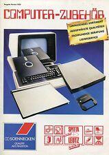 Alter Prospekt (Herbst 1986) COMPUTER-ZUBEHÖR - SOENNECKEN
