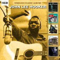John Lee Hooker - 5 Timeless Classic Albums - (5 CD) NEW & SEALED