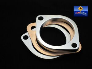 "2.5"" Exhaust Flange CNC Machined Nissan;Skyline, Universal; 2pcs+Gasket"