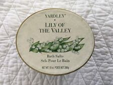 Vintage Yardley Lily Of The Valley Bath Salts