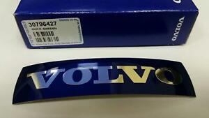 Volvo S60 V60 XC60 Front Grill Badge Emblem Metal Sticker Genuine 30796427