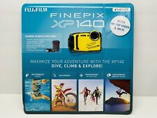FUJIFILM FinePix XP140 Digital Camera (Yellow) 6 Piece Bundle Brand New Sealed