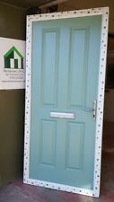 composite double glazed door chartwell green on white porch 956x2086 (6164)
