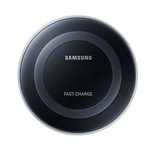 Genuine Samsung Galaxy S7 Edge S6 Fast Qi Wireless Charger Pad With Stand Black