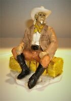 "Vtg 1988 Castagna Wild West Indian General Custer Figurine Made in Italy 5"" Tall"