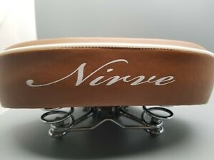 NIRVE BICYCLE CLASSIC SADDLE SEAT BROWN CRUISER S113 - RARE - DIFFICULT TO FIND
