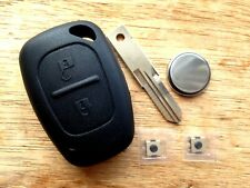 Suitable RENAULT VIVARO PRIMASTAR MASTER KANGOO REMOTE KEY FOB CASE REPAIR KIT