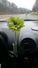 VW New Beetle GREEN Daisy Silk Flower plus 1 Original Clear Vase NEW!