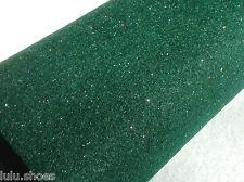Glitter Felt - Sparkly Felt sheets - sparkles - Size: A4 sheet  GREEN