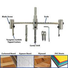 40-300mm Adjustable Metal Wood Circle Hole Saw Drill Bit Cutter Kit DIY Tool