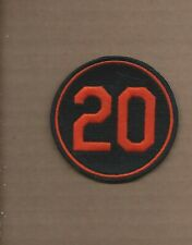 3 Inch Baltimore Orioles Iron on Patch