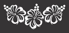 Hibiscus Flowers Tropical 667 Die Cut Vinyl Window Decal/Sticker for Car/Truck