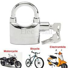 Security Motorbike Anti Theft Alarm Lock Motion Sensor Bike Padlock Waterproof