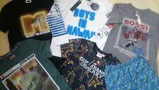 Bell 'NUOVO 8x Bundle Transformers CAPITAN AMERICA Boy T-Shirt Pigiama 7/8 Y 8Y NR1
