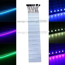 10pcs 50CM 0.5m 5050 RGB SMD 36 Led rigid Hard Strip Light Super Bright Bar 12V