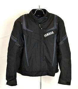 Yamaha Jupiter Motorcycle Jacket by Rev'it! Black Hydratex Waterproofing Liner