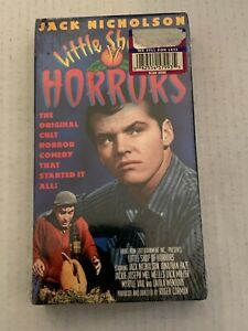 Little Shop of Horrors VHS (Jack Nicholson, 1960) SEALED-Front Row Entertainment
