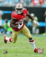 """Carlos Hyde San Francisco 49ers NFL Action Photo (Size: 8"""" x 10"""")"""