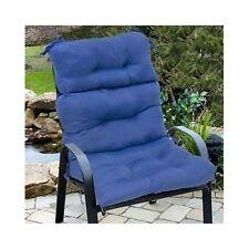 2 high back chair seat cushions pillow pad indoor outdoor patio garden furniture - Garden Treasures Patio Furniture