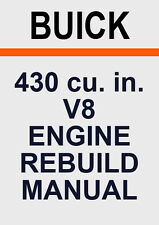 BUICK 430 V8 ENGINE REBUILD MANUAL