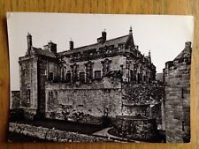 Stirling Castle circa 1960s postcard