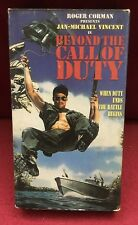 Roger Corman Presents Beyond the Call of Duty VHS starring Jan-Michael Vincent