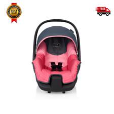 Even-flo Nurture Rear-Facing 5-20lb Infant Baby Car Seat, Grace Pink