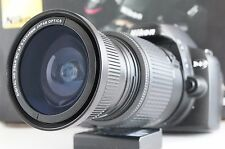 Wide Angle Macro Fisheye lens for Nikon D with 18-55 AFS AF-S VR D3400 D5500 New